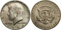 1/2 Dollar 1964 USA Kennedy ss+  8,00 EUR  +  7,00 EUR shipping