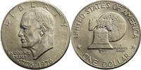 1 Dollar 1976 USA Eisenhower / Freiheitsglocke - D (Denver) bankfrisch  8,00 EUR  +  7,00 EUR shipping