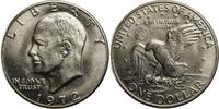 1 Dollar 1972 USA Eisenhower - D (Denver) bankfrisch  10,00 EUR  +  7,00 EUR shipping