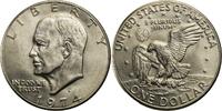 1 Dollar 1974 USA Eisenhower - D (Denver) bankfrisch  10,00 EUR  +  7,00 EUR shipping