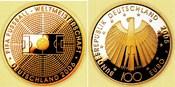 100 Euro 2005 Deutschland 1/2 Unze Goldmün...