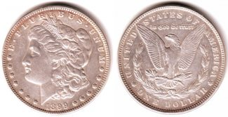 USA 1 Dollar 1899 ss Morgan-Dollar