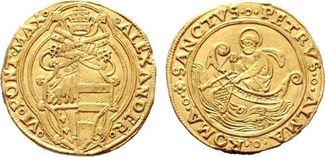 Doppio (1492-1503) o.J Kirchenstaat/ Vatik...