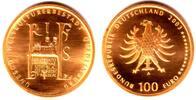 100 Euro 2003 D Deutschland 1/2 Unze Goldmünze - Quedlinburg st mit Box... 598,00 EUR