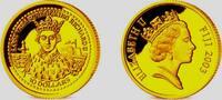 Fiji Inseln 10 Dollar 1/25 Unze Goldmünze -  König Richard II.