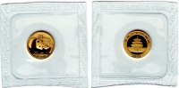 China 20 Yuan 1/20 Unze - Gold-Panda 