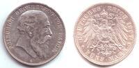 5 Mark 1904 G Baden Friedrich I. (1852 - 1907) ss-vz  69,00 EUR  excl. 6,95 EUR verzending