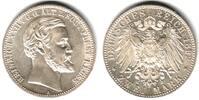 2 Mark 1892 A Reuss ältere Linie Heinrich XXII. (1859-1902) f.st  1498,00 EUR  excl. 14,95 EUR verzending