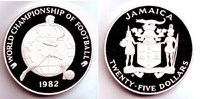 Jamaica 25 Dollar 1982 PP World Champions Ship of Football Espana 1982 -... 159,90 EUR