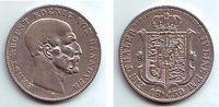 Ausbeutetaler 1850  B Hannover 1 Ausbeutetaler Silbermünze - Bergsegen ... 79,00 EUR  Excl. 6,95 EUR Verzending