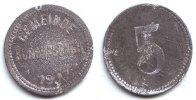 5 Pfennig 1917 Burghaslach Notgeld der Gemeinde Burghaslach - 5 Pfennig... 89,90 EUR  excl. 6,95 EUR verzending