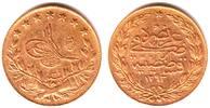 100 Piaster 1876/ AH 1293 Türkei Sultan Abdul Hamid II.(1876-1909) vz  349,00 EUR  excl. 9,95 EUR verzending