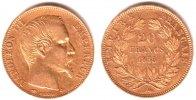 20 Francs 1855 A Frankreich Napoleon III. (1852-1870) ss   249,00 EUR  Excl. 9,95 EUR Verzending