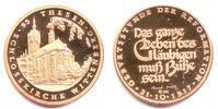 Goldmedaille 1967 Martin Luther Schloßkirche zu Wittenberg - Sinnspruch... 298,00 EUR  Excl. 9,95 EUR Verzending