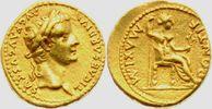 Aureus 14-37 Römisches Kaiserreich Kaiser Tiberius (14-37) ss/vz  3998,00 EUR  Excl. 14,95 EUR Verzending