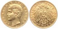 10 Mark 1893 D Bayern König Otto von Bayern (1896-1913) f.vz  239,00 EUR  Excl. 9,95 EUR Verzending