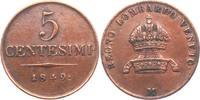 Östereich-Lombardei + Ventenien 5 Centesimi Franz Joseph I. (1848-1916)