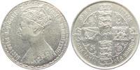 1 Florin 1856 Großbritannien Victoria (1837 - 1901) ss+  119,00 EUR  Excl. 9,95 EUR Verzending