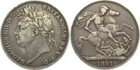 Crown 1821 Großbritannien Georg IV. (1820-...