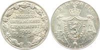 2 Kronen 1906 Norwegen Haakon VII. (1905 - 1957) f.st  149,00 EUR  excl. 9,95 EUR verzending