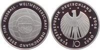 10 Euro 2006 G Deutschland Fußball WM 2006 (4. Ausgabe) PP  19,00 EUR