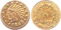 1/4 Dollar 1859 USA - California California Gold-Token - Kopf eines Ind... 149,00 EUR  Excl. 9,95 EUR Verzending