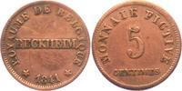 5 Centimes 1841 Belgien - Reckheim Notgeld - Gefängnisgeld - Reckheim -... 59,90 EUR  Excl. 6,95 EUR Verzending