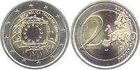 2 Euro 2015 Italien Europaflagge bankfrisch  3,95 EUR