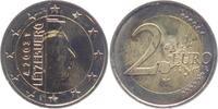 2 Euro 2003 Luxemburg Großherzog Henri unc.  4,95 EUR