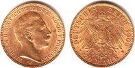20 Mark 1909 J Preussen Kaiser Wilhelm II. ss/vz/Kr.  329,00 EUR