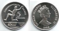 5 Dollars 1988 Cayman Inseln Weitsprung - Commonwealth Spiele st  29,00 EUR