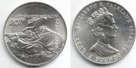 2 Pounds 1986 Falkland Inseln Commonwealth Spiele 1986 - Schießen st  39,00 EUR