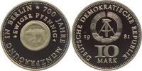 10 Mark 1981 DDR Münze Berlin PP  44,00 EUR