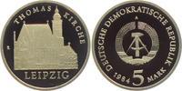 5 Mark 1984 DDR Thomaskirche Leipzig PP  29,00 EUR