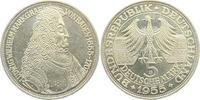 5 Mark 1955 G Deutschland Markgraf von Baden - Türken Louis prägefrisch  198,00 EUR