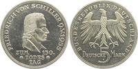 5 Mark 1955 F Deutschland Schiller prägefrisch  198,00 EUR