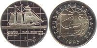 5 Liri 1985 Malta Segelschiff - Schiffe - Maria da Coutros (1902) PP  39,95 EUR