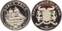 500 Francs 1996 Benin Segelschiff - Schiffe - Gorch Fock PP  19,95 EUR