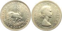 5 Shillings 1958 Südafrika Springbock unc.  19,00 EUR  +  6,95 EUR shipping