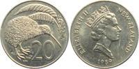 20 Pence 1989 Neuseeland Kiwi - Vögel - Vogel unc.  4,95 EUR  +  3,95 EUR shipping