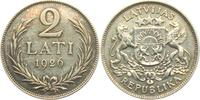 2 Lati 1926 Lettland  ss  8,00 EUR