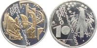 10 Euro 2003 Deutschland Gedenkprägung - Deutsches Museum - mit Goldapp... 19,95 EUR