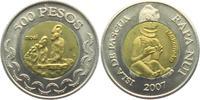 500 Pesos 2007 Chile - Osterinseln Moai - Steinfiguren - Makemake bankf... 13,95 EUR