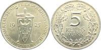 5 Mark 1925 A Weimarer Republik Schwurhand vz  89,00 EUR  Excl. 6,95 EUR Verzending
