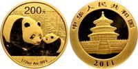 China 200 Yuan 2011 st orginal eingeschweißt Gold Panda 898,00 EUR  plus 9,95 EUR verzending