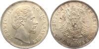 5 Mark 1865 B Bayern König Ludwig II. von Bayern (1864-1886) vz/st/Kr.  398,00 EUR  Excl. 9,95 EUR Verzending