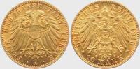 10 Mark 1910 A Lübeck Stadtwappen gutes vz  2995,00 EUR  Excl. 14,95 EUR Verzending