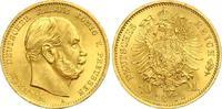 10 Mark 1872 A Preussen Kaiser Wilhelm I. st