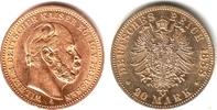 Preussen 20 Mark Kaiser Wilhelm I.