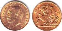 1/2 Sovereign 1915 Großbritannien Georg V. (1910-1936) f.st  189,00 EUR  Excl. 9,95 EUR Verzending